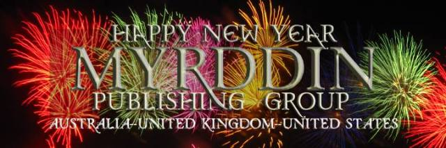 Myrddin Publish Group New Years Eve Party Banner
