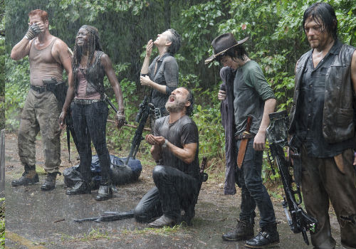 Rick's gang finally cop a break in Episode 10 (entitled Them) in Season 5 of AMC's The Walking Dead