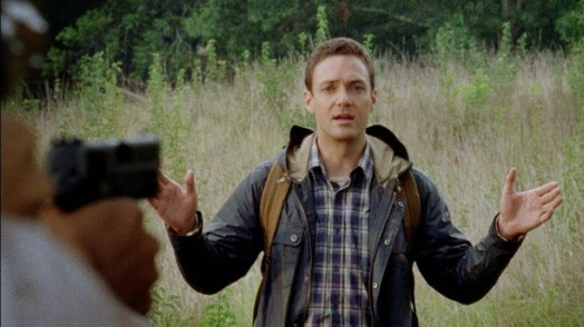 Welcome to the tribe Aaron (Ross Marquand). Episode 10 (entitled Them) Season 5 of AMC's The Walking Dead