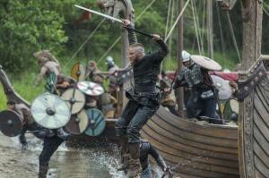 Travis Fimmel stars as Ragnar Lothbrok in Episode 1 (entitled Mercenary) Season 3 of History Channel's Vikings