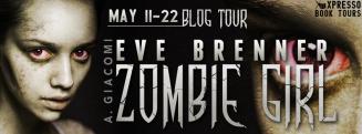 Eve Brenner Zombie Girl Tour Banner