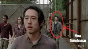 Glenn (Steven Yeun) is awesome in Episode 12 (entitled Remember) Season 5 of AMC's The Walking Dead