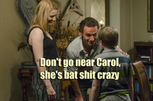 What Rick (Andrew Lincoln) should have said in Episode 13 (entitled Forget) Season 5 of AMC's The Walking Dead