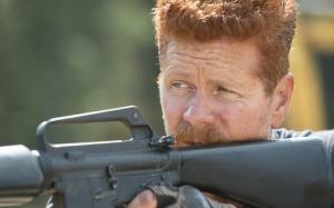 Abraham (Michael Cudlitz) stars in EPisode 14 (entitled Spend) Season 5 of AMC's The Walking Dead