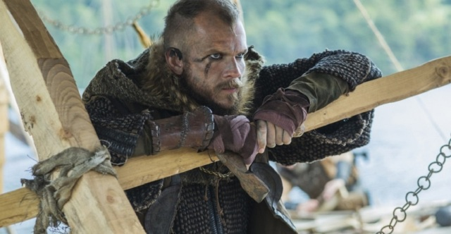 Floki (Gustaf Skarsgard) stars in Episode 7 (entitled Paris) Season 3 of History Channel's Vikings