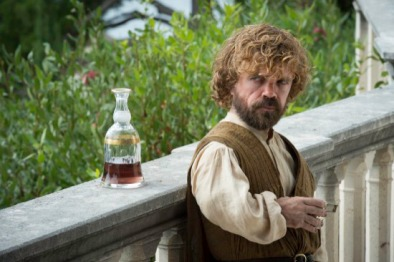 Tyrion Lannister (Peter Dinklage) stars in Episode 1 (entitled The Wars to Come) Season 5 of HBO's Game of Thrones