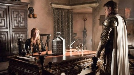 Game of Thrones Season 5 Episode 2 (entitled The House of Black and White) Cersei and Jaime Lannister