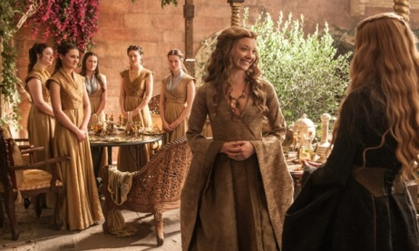 Game of Thrones Season 5 Episode 3 (entitled High Sparrow) Margaery out-snarks Cersei