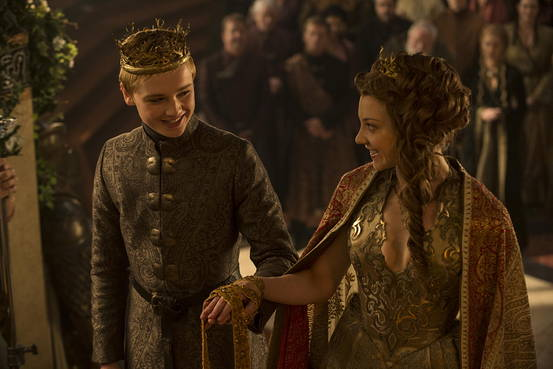 Game of Thrones Season 5 Episode 3 (entitled High Sparrow) King Tommen marries Margaery