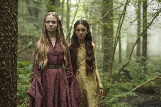 Young Cersei visits a witch in EPisode 1 (entitled The Wars to Come) Season 5 of HBO's Game of Thrones