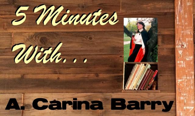 5 Minutes With... A. Carina Barry