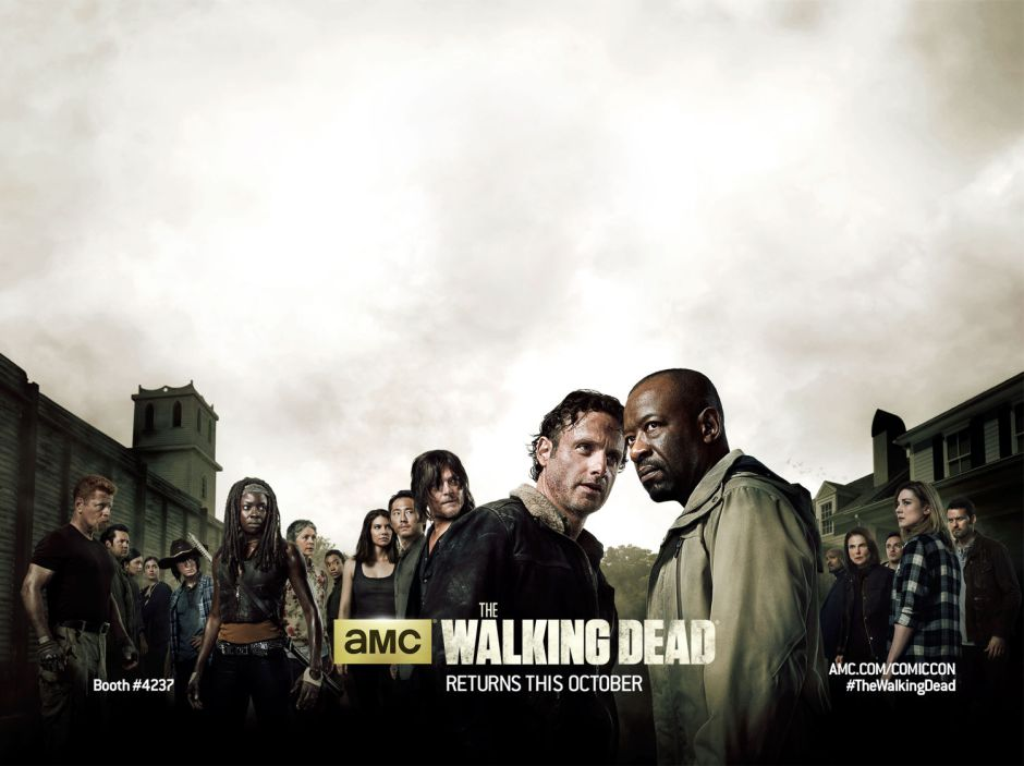 AMC's The Walking Dead Season 6 San Diego Comic Con banner