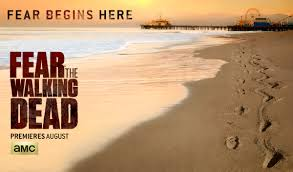 Fear The Walking Dead promo poster beach