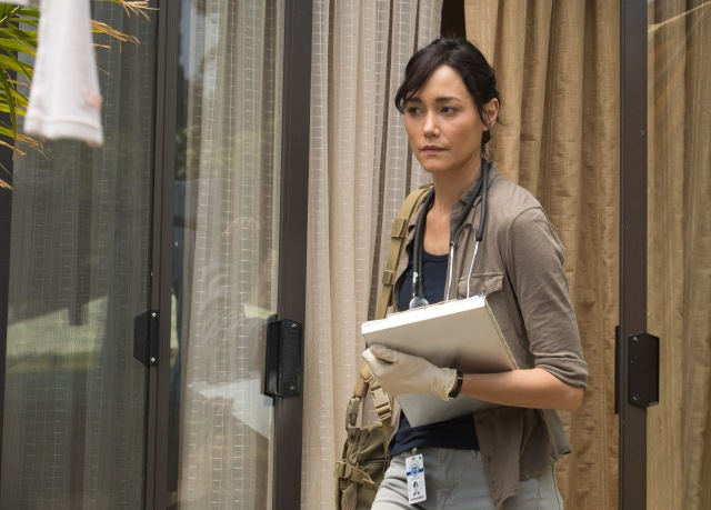 Sandrine Holt as Dr. Bethany Exner - Fear The Walking Dead _ Season 1, Episode 4 - Photo Credit: Justina Mintz/AMC