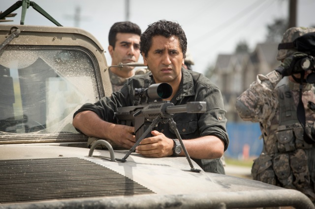 Cliff Curtis stars as Travis Manawa in AMC's Fear The Walking Dead