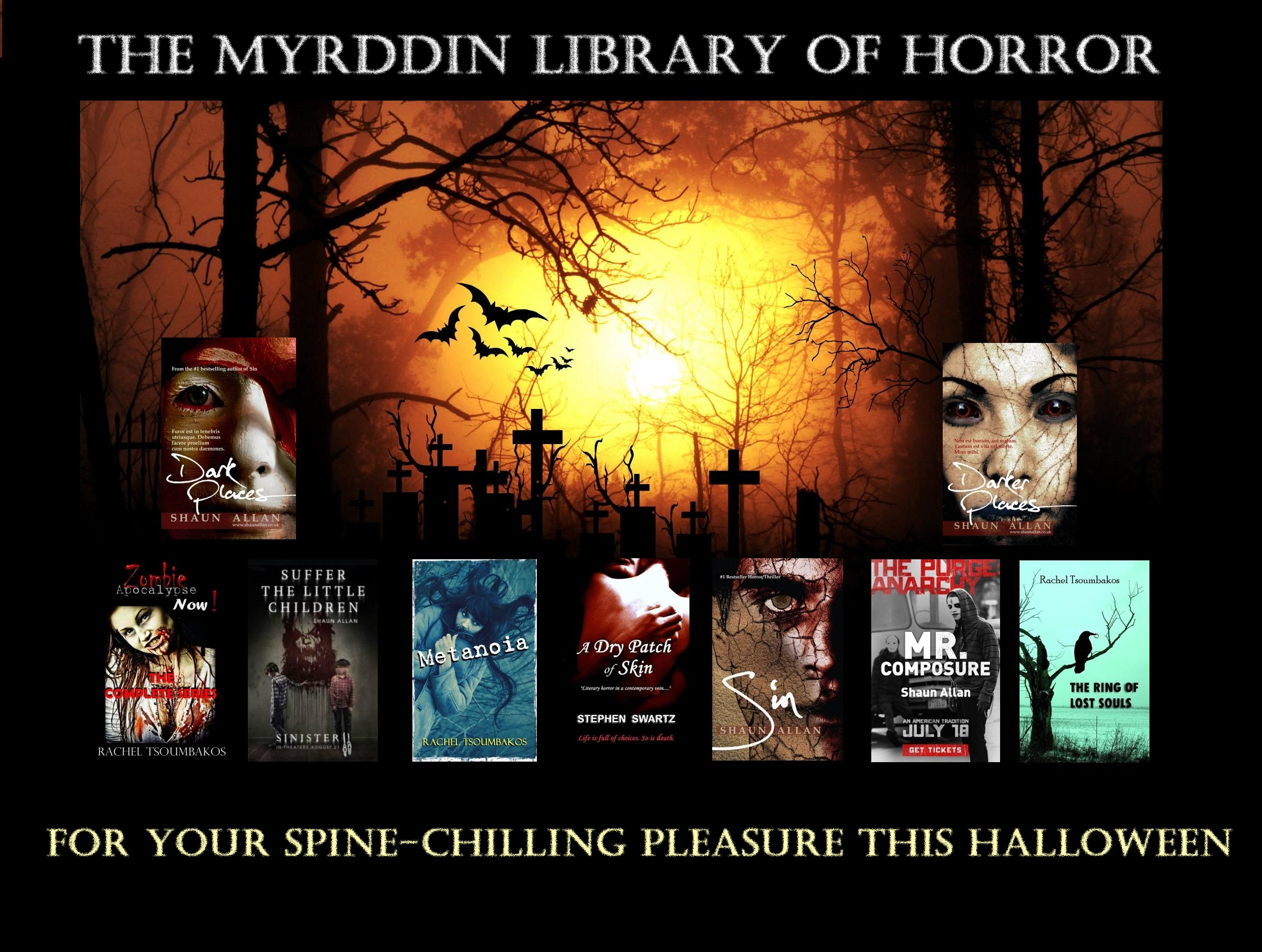 Myrddin Halloween 2015 image template books text