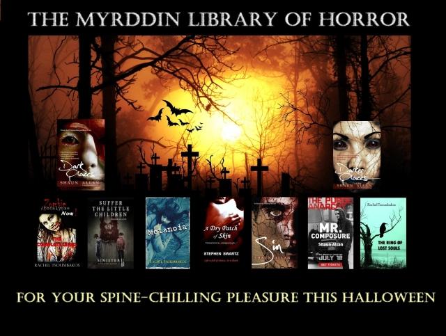 Myrddin Halloween 2015 image template books text