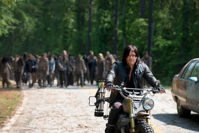 Norman Reedus as Daryl Dixon - The Walking Dead _ Season 6, Episode 1