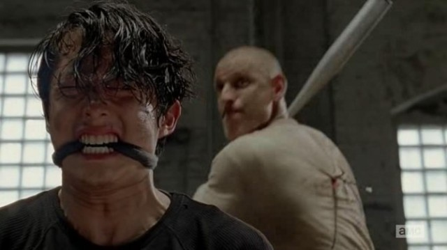 Steven Yeun stars as Glenn Rhee in AMC's The Walking Dead