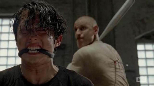Steven Yeun stars as Glenn Rhee in AMC's The Walking Dead