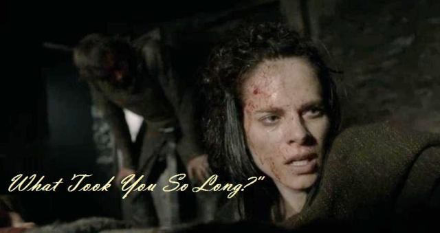 Amy Bailey stars as Queen Kwenthrith in Episode 2 Season 4 of Vikings text