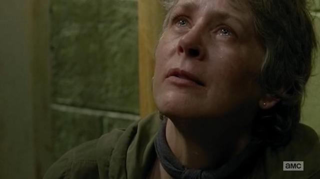 The Walking Dead S06E13 Carol deserving an Oscar