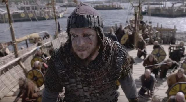 History Channel Vikings Season 4 Episode 10 The Last Ship Floki close up