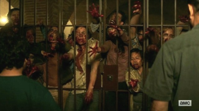 Fear The Walking Dead Season 2 Episode 6 containing the undead
