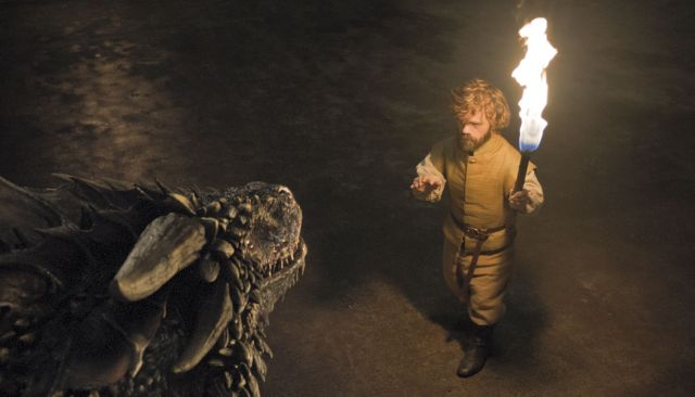 Game of Thrones Season 6 Episode 2 Home Tyrion Lannister and the dragon