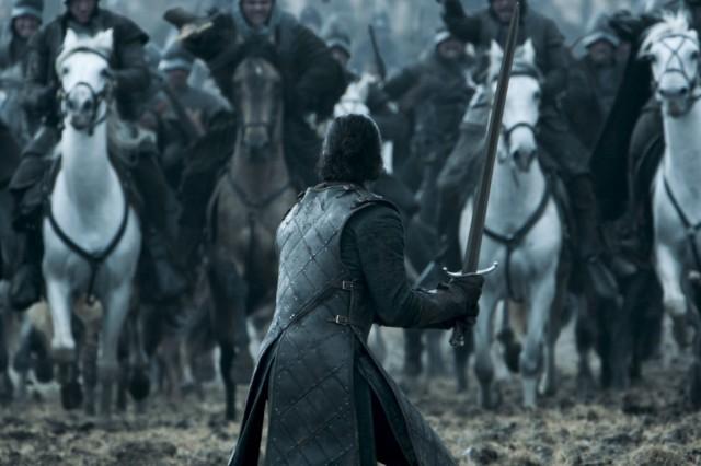 HBO's Game of Thrones Season 6 Epsiode 9 Battle of the Bastards Jon Snow faces Ramsay Bolton's army