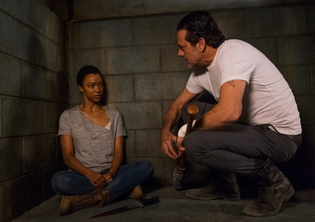 AMC's 'The Walking Dead,' Season 7, Episode 15, Something They Need, Sasha and Negan