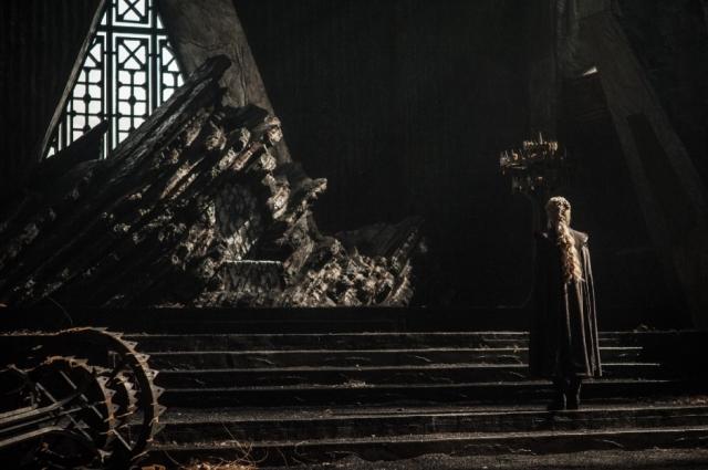 HBO's 'Game of Thrones' Season 7, Episode 1, Dragonstone, the iron throne, Emilia Clarke as Daenerys Targaryen
