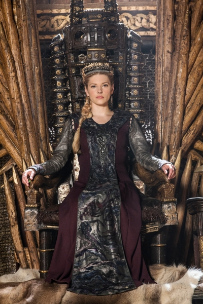 History Channel's Vikings,' Season 5, premiere, Episode 1, The Departed, Queen Lagertha