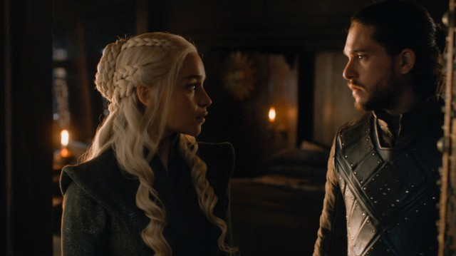 HBO's 'Game of Thrones,' Season 7 finale, Episode 7, 'The Dragon and the Wolf,' Daenerys and Jon Targaryen