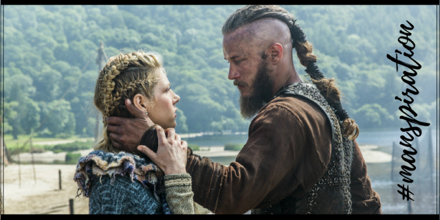 #Manpiration History Channel's 'Vikings,' Ragnar Lothbrok, Travis Fimmel, Lagertha, Katheryn Winnick. Vikings: The Truth About Lagertha And Ragnar