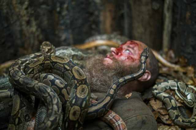 Ragnar, as portrayed by Travis Fimmel, in History Channel's 'Vikings'
