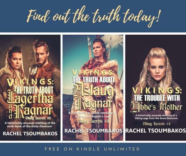 Viking Secrets series, Rachel Tsoumbakos