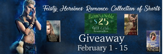 February giveaway for Feisty Heroines